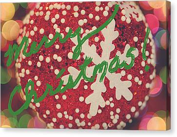 Merry Christmas Canvas Print by Laurie Search