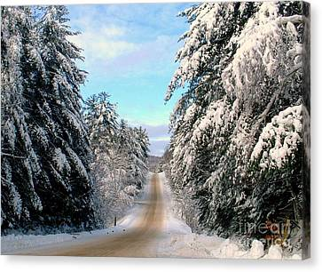 Merry Christmas,happy Holidays Canvas Print