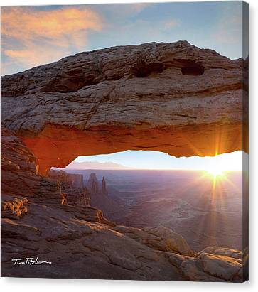 Mesa Arch, Canyonlands, Utah Canvas Print