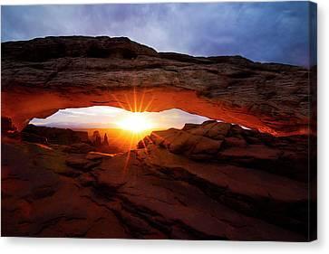 Mesa Arch Sunrise Canvas Print