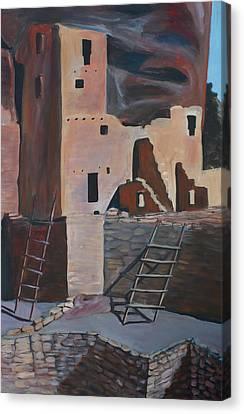 Mesa Verde 2 Canvas Print by Cher Devereaux