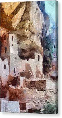 Mesa Verde Canvas Print by Jeffrey Kolker