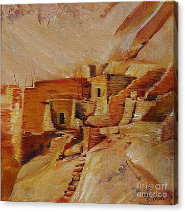 Mesa Verde Canvas Print by Summer Celeste
