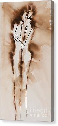 Mesh II  His Divine Love Series No. 1285 Canvas Print by Ilisa Millermoon