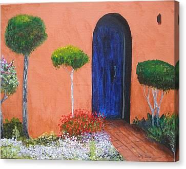 Mesilla Door Canvas Print