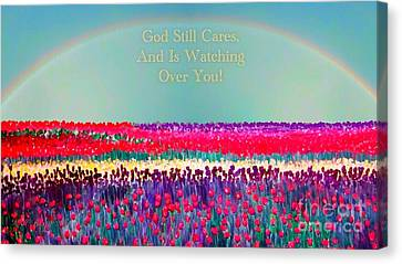 Message From The Other Side Canvas Print by Kimberlee Baxter