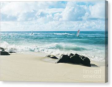 Canvas Print featuring the photograph Messengers Of Light by Sharon Mau
