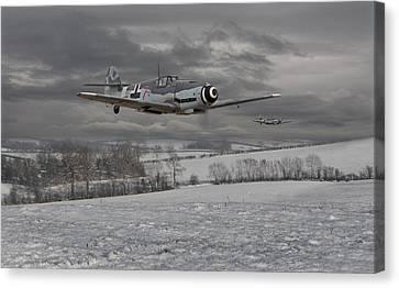Messerschmitt Bf 109 G - Gustav Canvas Print