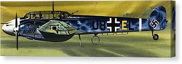 Messerschmitt Canvas Print