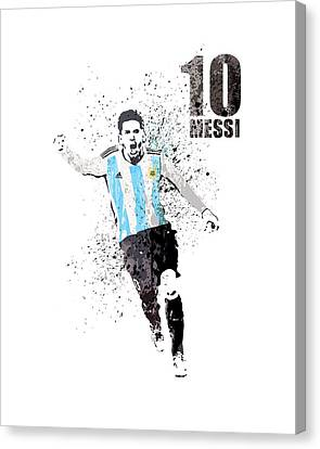 Messi / Argentina Canvas Print