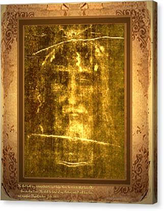 Messiah Manifested Canvas Print by Anastasia Savage Ealy