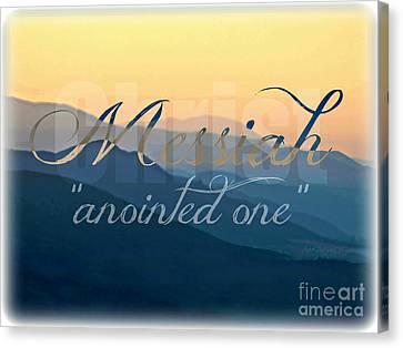Messiah  Canvas Print by Sharon Soberon