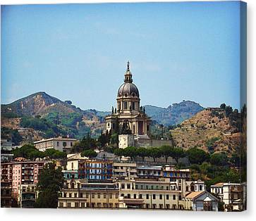 Messina Canvas Print by Julie Palencia