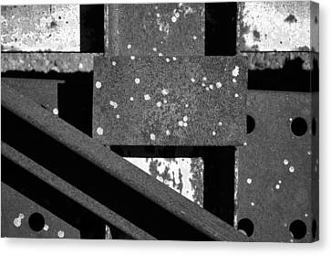 Metal And Alloys Canvas Print by Tom Druin