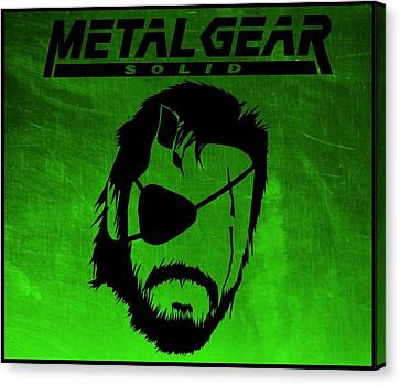 Metal Gear Solid Canvas Print by Kyle West