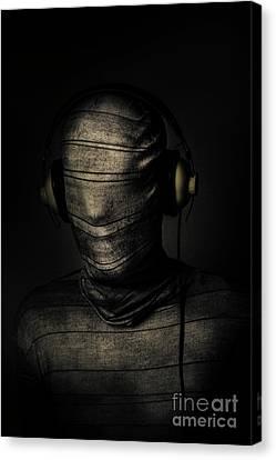 Metal Monster Mummy Canvas Print by Jorgo Photography - Wall Art Gallery
