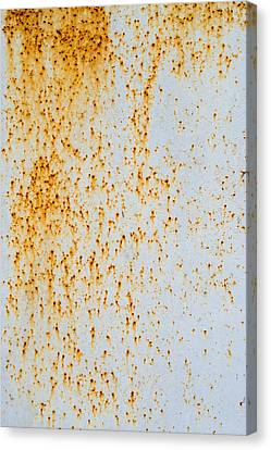 Canvas Print featuring the photograph Metal Rust by John Williams