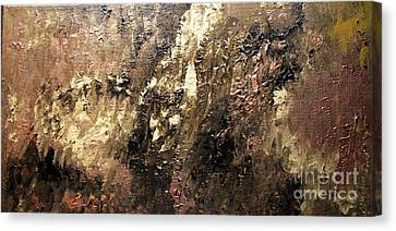 Metallic Abstract Canvas Print by Shelly Wiseberg