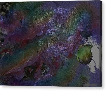 Metallic Color Canvas Print by J P Lambert