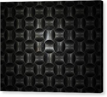 Metallic Weave Canvas Print