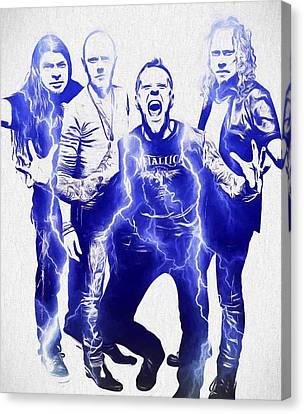 Metallica Canvas Print by Dan Sproul