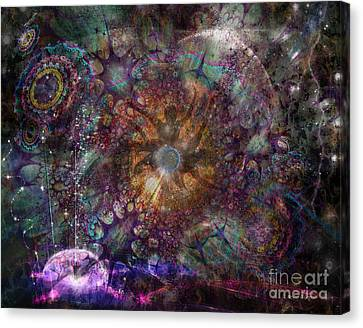 Metamorphignition Canvas Print by Rhonda Strickland
