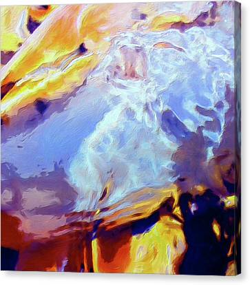 Canvas Print featuring the painting Metamorphosis by Dominic Piperata