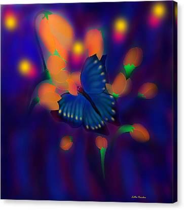 Metamorphosis Canvas Print by Latha Gokuldas Panicker
