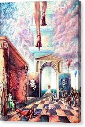 Metaphor Canvas Print by Oscar Lopez