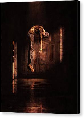 Canvas Print featuring the photograph Metaphysical Dilemma by Bob Orsillo