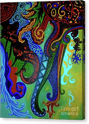 Metaphysical Habituation Canvas Print by Genevieve Esson