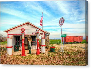 Metcalfe Station Canvas Print by Marion Johnson