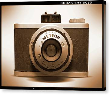 Meteor Film Camera Canvas Print by Mike McGlothlen