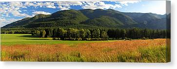 Methow Valley Washington Landscape Larry Darnell Canvas Print