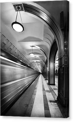 Metro #5147 Canvas Print