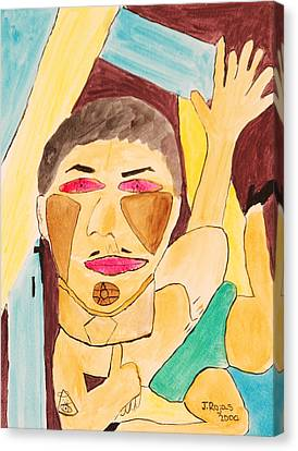 Metro Beauty Canvas Print by Jose Rojas