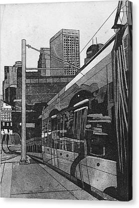 Metro Canvas Print by Jude Labuszewski