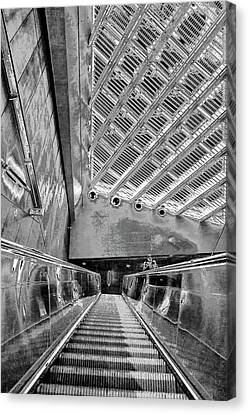 Metro Line 4 Structures, Budapest 3 Canvas Print