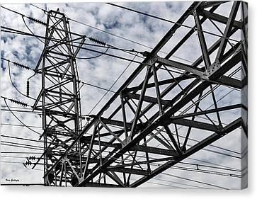 Metro North Power Canvas Print