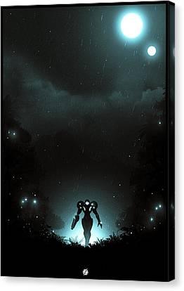Prime Canvas Print - Metroid Prime by Colin Morella
