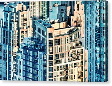 Metropolis Canvas Print by Amyn Nasser