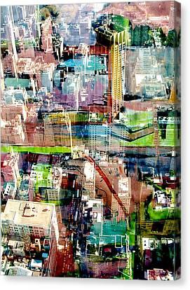 Metropolis II Canvas Print by David Studwell