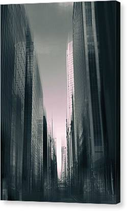 Metropolis II Canvas Print by Jessica Jenney