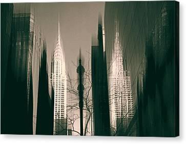 Metropolis IIl Canvas Print by Jessica Jenney