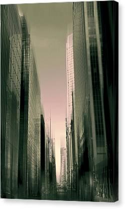 Metropolis Canvas Print by Jessica Jenney