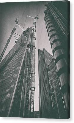 Business Plan Canvas Print - Metropolis by Martin Newman
