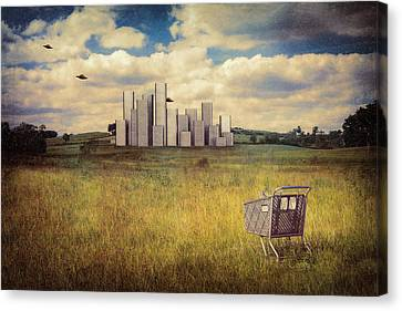 Metropolis Canvas Print by Tom Mc Nemar