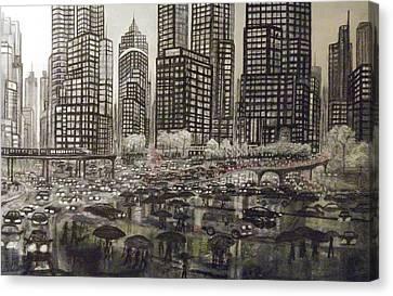 Metropolitan Canvas Print