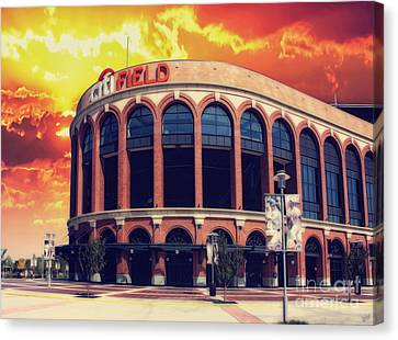 Mets Citi Field  Canvas Print by Nishanth Gopinathan