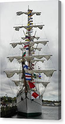 Mexican Navy Ship Canvas Print